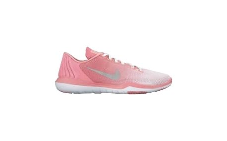 Dámské fitness boty Nike W FLEX SUPREME TR 5 PRM 38 WHITE/MATTE SILVER-BRIGHT MELO