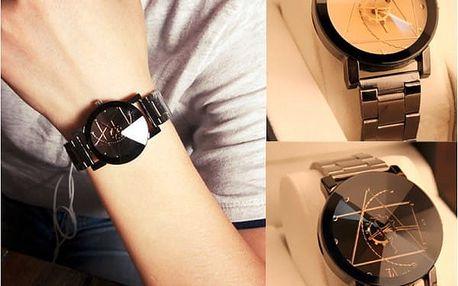 Luxusní hodinky z nerezové oceli Gofuly