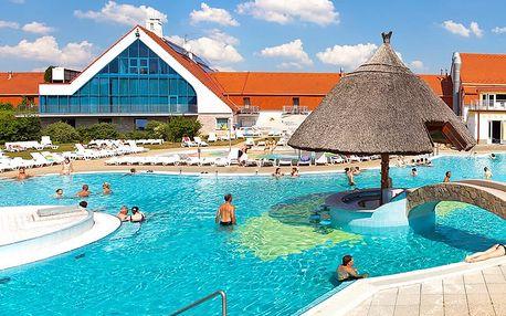 Maďarsko: pobyt v zámeckém hotelu blízko Hévízu s polopenzí a neomezeným vstupem do wellness