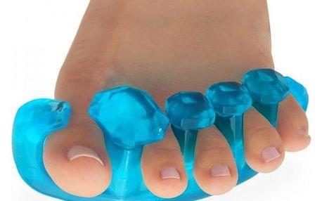 Silikonová podpora pro správné postavení prstů na noze
