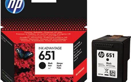 HP C2P10AE, černá, č. 651