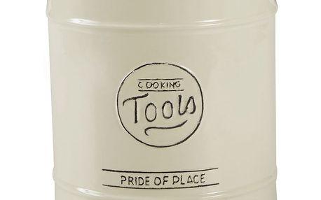 Krémová keramická dóza na kuchyňské náčiní T&G Woodware Pride Of Place