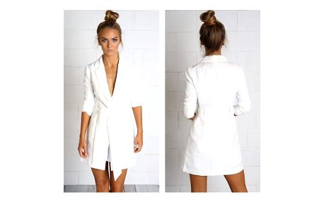 Elegantní sako v prodloužené délce Piper