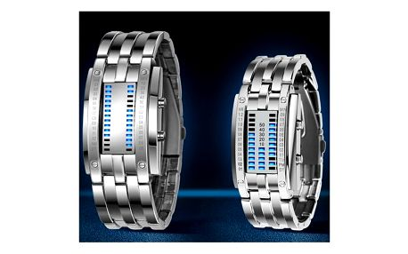 Binární LED hodinky pro muže i ženy - 2 barvy