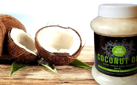 BIO kokosový olej pro zdraví, krásu i do kuchyně