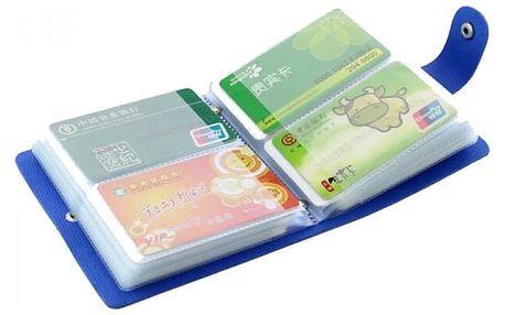 Organizér na platební karty - 40 slotů - béžová - dodání do 2 dnů