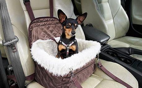 Taška a autosedačka pro psy