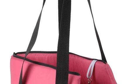 Transportní taška pro zvířecí miláčky růžová, 45 cm