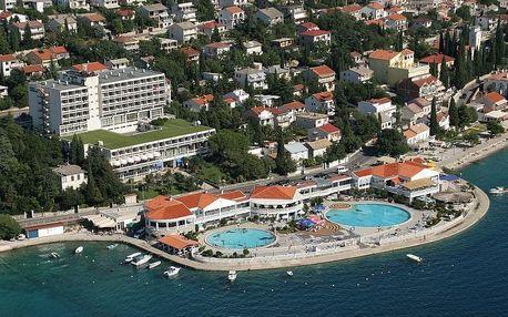 Chorvatsko - Kvarner na 8 dní, plná penze s dopravou vlastní