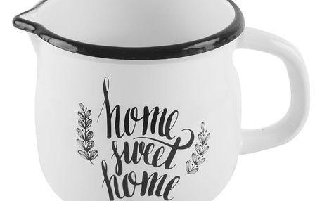 Orion Smaltovaný hrnek Home sweet home, 0,8 l
