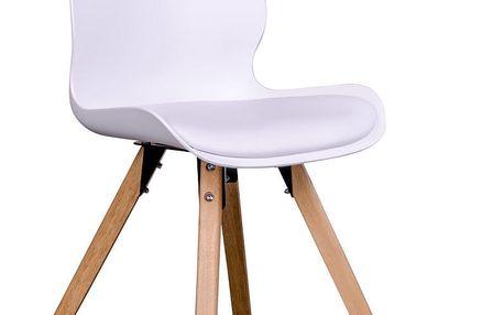 Sada 2 bílých židlí House Nordic Rana - doprava zdarma!