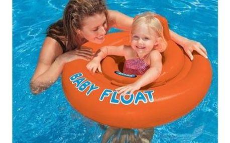 Plovací kruh Intex 1-2 roky - oranžový