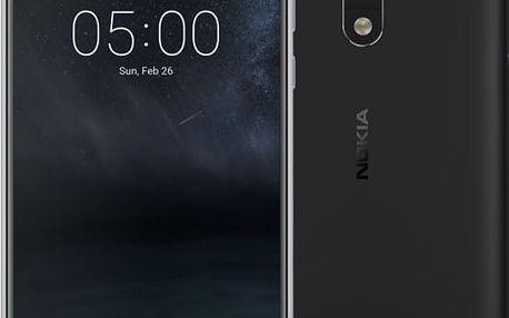 Nokia 5, černá - 11ND1B01A12