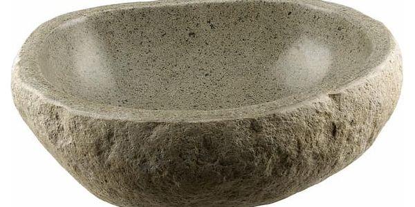 Umyvadlo z přírodního kamene andezit2