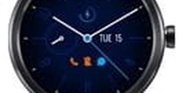 TCL MOVETIME Smartwatch kožené Black/Black, na splátky od 341 Kč měsíčně