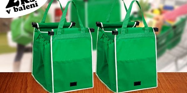 Skládací taška do nákupního vozíku