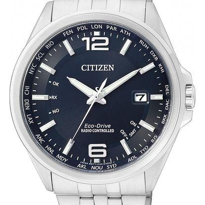 Citizen Global Radio Controlled CB0010-88L + pojištění hodinek, doprava ZDARMA, záruka 5 let