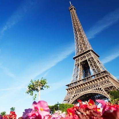 Paříž - město zamilovaných na 1 noc se snídaní