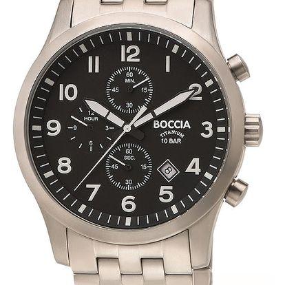 Boccia Titanium 3755-02 + pojištění hodinek, doprava ZDARMA, záruka 3 roky