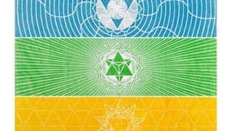 Čakrová podložka pro jógu či meditaci
