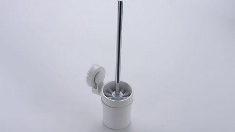 Nástěnný WC kartáč bez nutnosti vrtání ZOSO Brush White