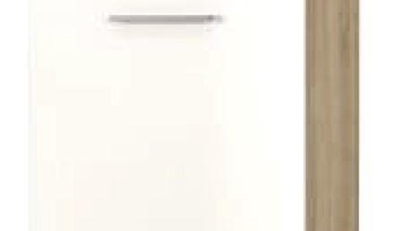 Lima - Skříň, 60x200 (dub sonoma, bílá)