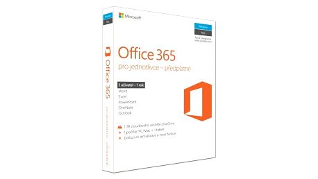 Office 365 Personal 32-bit/x64 Czech, P2