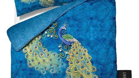 Bavlněné povlečení Dreamhouse Peacock, 200x220cm