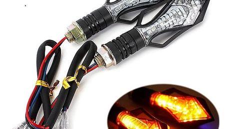 Univerzální LED blinkry na motocykl 2ks - 13 LED