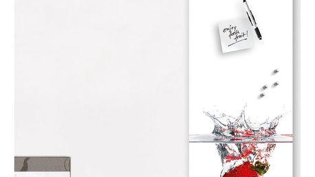 Magnetická tabule Eurographics Splash, 30x80cm