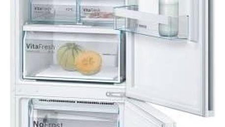 Kombinace chladničky s mrazničkou Bosch KGN39VW45 bílá + Doprava zdarma