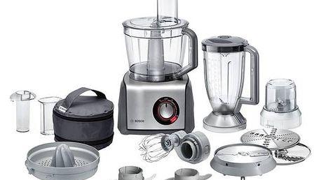 Kuchyňský robot Bosch MCM68861 šedý + Doprava zdarma