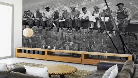 1Wall Fototapeta Dělníci na traverze 315x232 cm