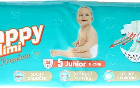HAPPY MIMI dětské pleny Premium Junior 44 ks (11-25 kg)