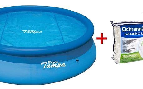 Marimex Podložka a solární plachta pro bazén Tampa 3,66 m. - 19900011