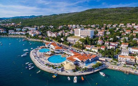 Chorvatsko - Kvarner na 8 dní, plná penze nebo polopenze s dopravou vlastní