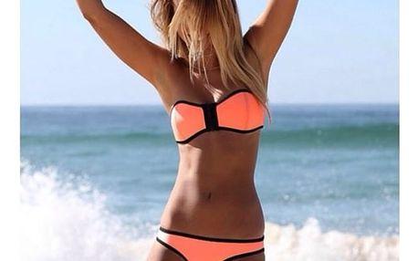 Dámské bikini ve veselých barvičkách