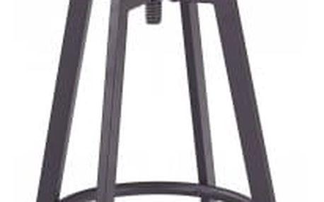 H64 - Barová židle (hnědá)