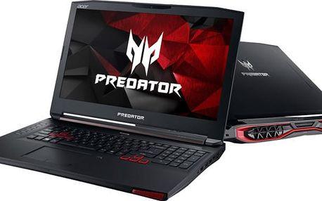 Acer Predator 17 (G5-793-71L7), černá - NH.Q1HEC.004 + Kupon na hru ROCKET LEAGUE, platnost od 30.5.2017 - 31.7.2017