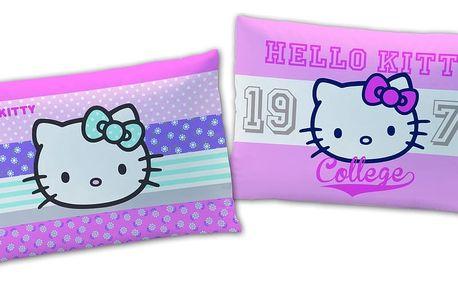 Plyšový polštářek Hello Kitty Amaya 28 x 42 cm