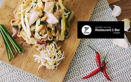 Výběr ze 6 asijských Hot Pot pokrmů pro 2–3 osoby v restauraci U Fugiho v Praze