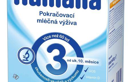 Expirace 31.8.2017: HUMANA 3 (600 g) - kojenecké mléko