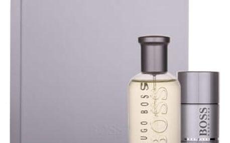 HUGO BOSS Boss Bottled dárková kazeta pro muže toaletní voda 50 ml + deostick 75 ml