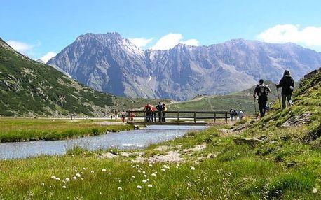 Rakouské Alpy se stravou a túrami pro dva