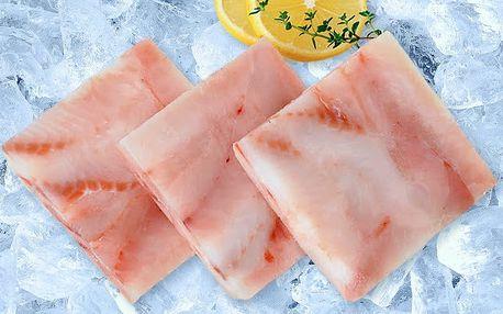 Filé z aljašské tresky: 4 kg naporcovaného jemného masa bez kostí