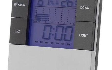 Digitální meteostanice s předpovědí počasí - dodání do 2 dnů