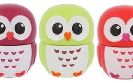 2K Lip Gloss dárková kazeta pro ženy lesk na rty Cherry 2,5 g + lesk na rty Apple 2,5 g + lesk na rty Strawberry 2,5 g