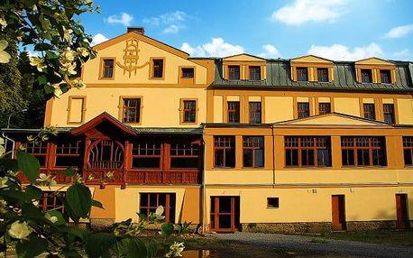 3denní wellness pobyt pro 2 s polopenzí v hotelu Praděd Thamm*** v Jeseníkách