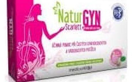 NaturGYN Scarlett přírodní péče pro ženy - 2 ks vaginálních tělísek