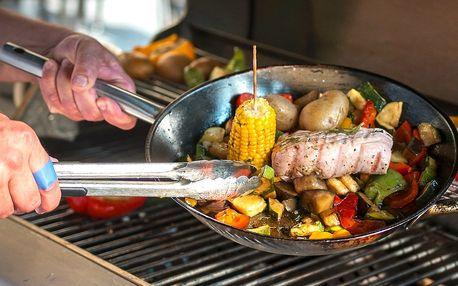 Zahradní grilování: steaky a limonáda pro dva